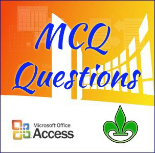 100 Mcq Questions From Microsoft Access Ms Access Mcq Questions