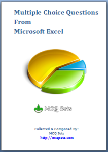 Download MS Excel MCQ Bank – PDF File