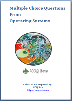 Operating Systems MCQ Bank cover page
