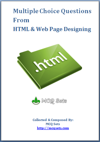 HTML MCQ Bank in PDF