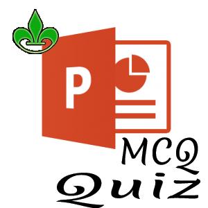 Online Quiz MS PowerPoint