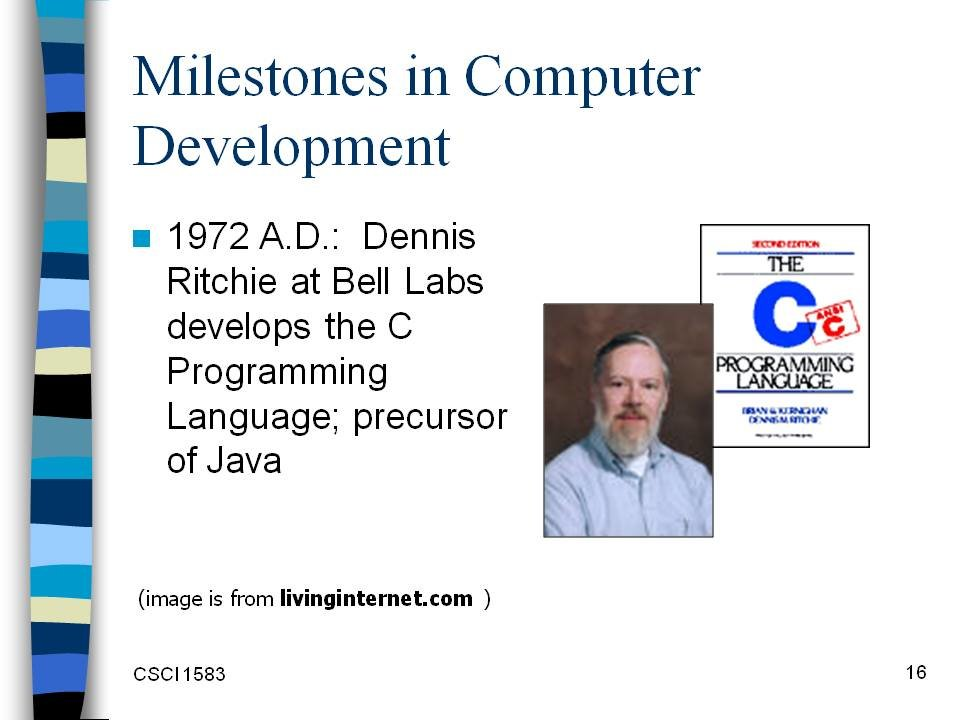 milestone in computer history essay Read this essay on snhu it-200 milestone 2  starting out with the wan going into the computer  of strength and weakness noted from milestone 1: health history .