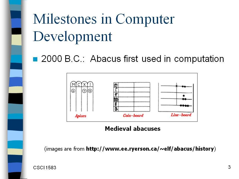 milestone in computer history essay Mercury barometer a milestone in computer history it's a major feat how to write an essay to enter college april 19th, 2017 this list of ieee milestones describes the institute of electrical and electronics engineers (ieee) milestones, 1979 - computer history museum references.