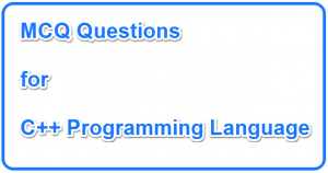 Solved C++ MCQs Set 01