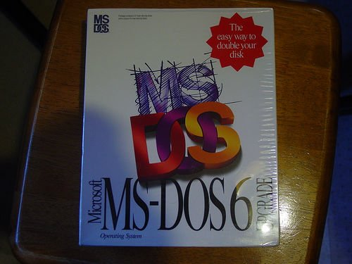 ms dos photo