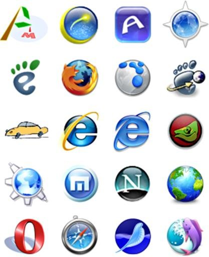 Different Browsers Logo