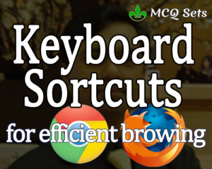 Keyword Shortcuts that makes your browsing efficient